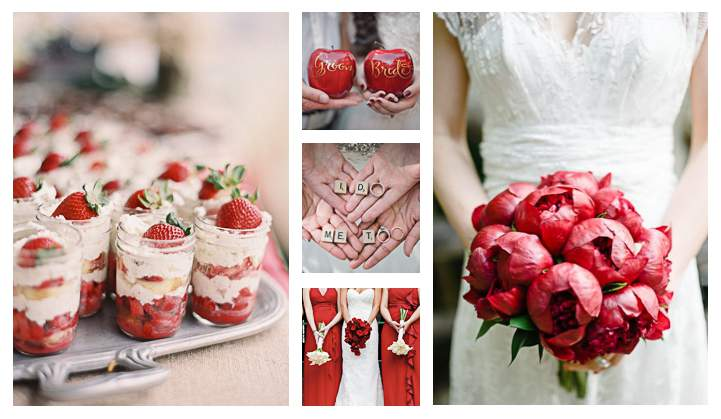 Matrimonio In Rosso Idee : Italiano matrimonio in rosso patch wedding