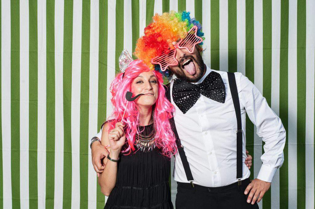 photo booth di matrimonio