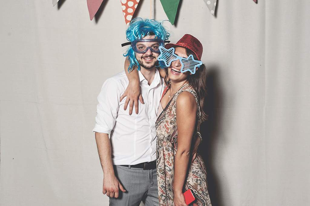 fotografo per matrimonio photo booth